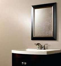 bathroom mirror mounting tape