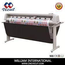 China High Performance 1750 Flatbed Cutting Vinyl Sticker Plotter China Vinyl Cutter Vinyl Cutting Machine