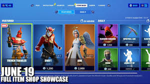 Fortnite Item Shop - June 19 2020 (Fortnite Battle Royale) - YouTube