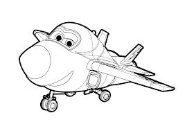 Những hình tô màu đội bay siêu đẳng dễ thương mà các bạn nhỏ yêu ...