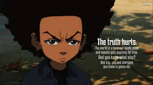 boondocks huey es esgram