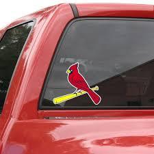 St Louis Cardinals 8 Color Team Logo Car Decal