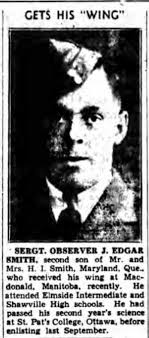 James Edgar Smith - The Canadian Virtual War Memorial - Veterans ...
