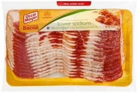 naturally hardwood smoked bacon