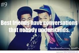best friends have conversations that nobody understands storemypic