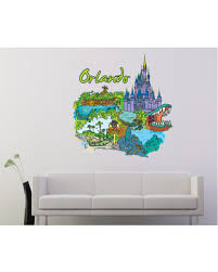 Phenomenal Deals On Famous City Vinyl Wall Decal Famouscityuscolor035 60 In