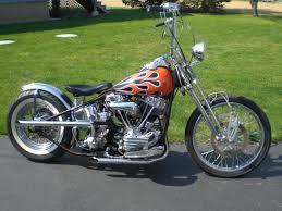 clic harley davidson panhead chopper