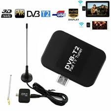 Dvb-t Micro USB HD TV Tuner Receiver Dongle Antenna for Android Phone  Tablet for sale online