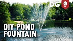diy pond founn