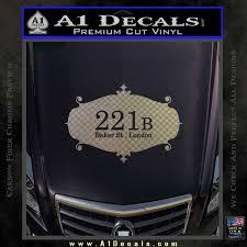 221 Baker Street Sherlock Sign Decal Sticker A1 Decals