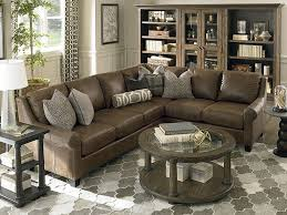 leather ellery large l shaped sectional