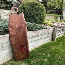 Never Had A Full Shot Of This 4ft Charcuterie Board Such A Fun Project With A Stunning Maple Leaf Resin Pour This Bo Charcuterie Board Charcuterie Maple Leaf
