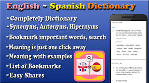 English to Spanish Dictionary for ...