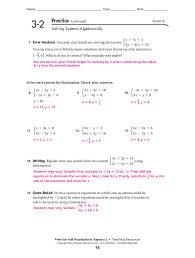 3 2 practice solving systems of