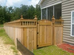 Wooden Fence Gate Building Misty97wvp