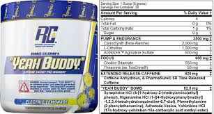 ronnie coleman yeah buddy pre workout
