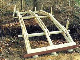 garden pond bridges plans