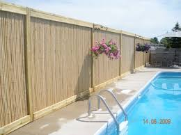 Bamboo Fencing Is An Eco Friendly Alternative Greenhouse Canada