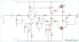 100 watt power lifier circuit