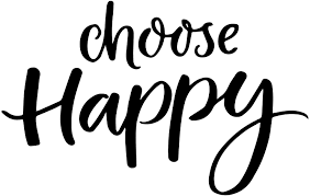 Amazon Com Choose Happy Wall Decal Large Wall Sticker 14 In H X 22 In W Motivational Wall Quote For Home Decor Uplifting Inspirational Vinyl Wall Art Black Arts Crafts Sewing