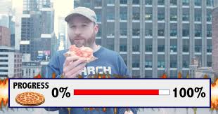 Dude Raps About The Hell Of 2017 While Stress-Eating A Whole Pizza |  HuffPost UK
