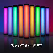 Nanlite PavoTube II 6C - Đèn Led Ống Đổi Màu RGB Tích Hợp Pin Sạc Ở Thân  Nhỏ Nhất 2020 - Digitalking