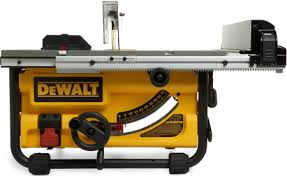 Dewalt Dw745 10 Inch Compact Job Site Table Saw With 16 Inch Max Rip Capacity Home