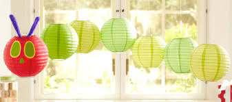 Paper Lantern Caterpillar Mobile Pottery Barn Kids