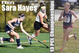 Meet O'Hara's Sara Hayes: Field Hockey and Cross Country Extraordinaire –  Philafieldhockey.com