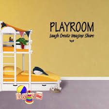 Playroom Laugh Create Imagine Share Vinyl Wall Decal Quote Craft Room Decor Playroom Create Kids Modern Sticker Xj476 Walmart Com Walmart Com