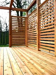 How To Choose The Deck Privacy Screens Amazing Deck Privacy Screen For Outdoor Idea Home Depo In 2020 Patio Deck Designs Backyard Privacy Screen Privacy Screen Outdoor
