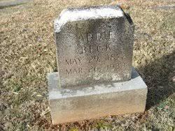 Addie Beck (1872-1933) - Find A Grave Memorial