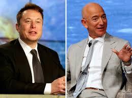 Elon Musk | Billionaire Beef: Elon Musk calls Jeff Bezos a copycat ...