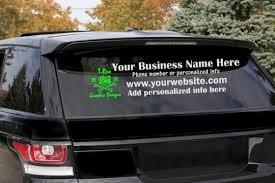 Car Business Decal Custom Cars Custom Cars Paint Car