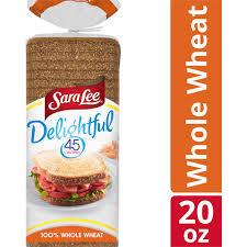 sara lee delightful 100 whole wheat