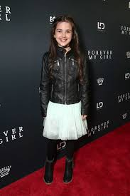 Forever My Girl - Abby Ryder Fortson on the red carpet at ...