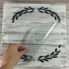 How To Apply Vinyl To Wood Craftables
