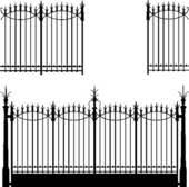 Wrong Iron Fence Clipart Clip Art Library