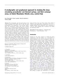 PDF) A stratigraphic and geophysical approach to studying the deep ...