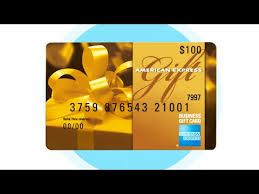 the american express business gift card