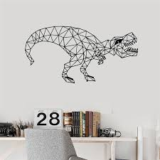 Polygonal Geometric Dinosaur Vinyl Wall Decal Home Decor Art Decor Nursery Kids Room Removable Cartoon Wall Sticker Stickers Wall Decor Stickers Wall Decoration From Joystickers 11 31 Dhgate Com