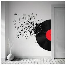 Musical Wall Decal Music Bedroom Music Room Decor Music Room
