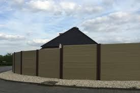 Composite Fence Panels Composiet Tuinschermen Info Types Prices Garden Fence Co Uk