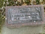Louella Hamilton 1864 - 1941 BillionGraves Record