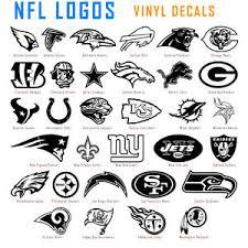 Nfl Vinyl Decal Sticker Car Window Wall Art National Football League Sport Logos Ebay