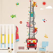 Kids Height Chart Wall Stickers Nursery Growth Measurement Ruler Removable Decal Walmart Canada