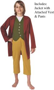 Amazon.com: The Hobbit Bilbo Baggins Costume - Small: Toys & Games