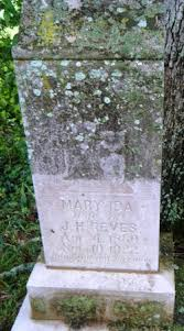 Mary Ida Henderson Reves (1860-1922) - Find A Grave Memorial