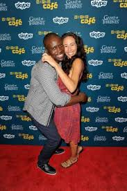 Actors Amadou Ly and Marisa Quinn attend an event during ...