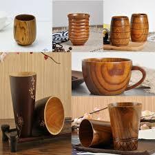 cup wood coffee tea beer juice milk